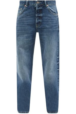 Raey Opa Organic-cotton Baggy Boyfriend Jeans - Womens - Dark