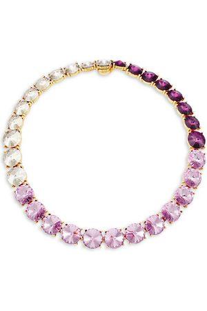Oscar de la Renta Goldtone & Swarovski Crystal Collar Necklace