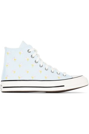 Converse Chuck 70 embroidered floral sneakers