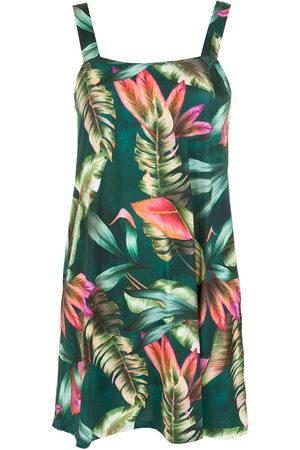 Lygia & Nanny Women Printed Dresses - Pomala leaf-print dress