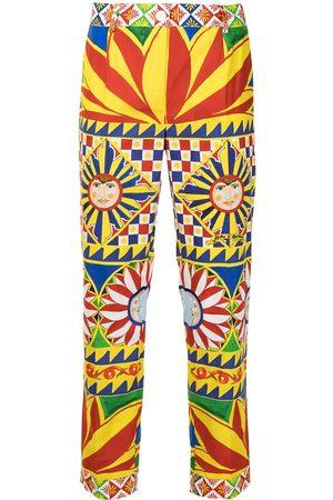 Dolce & Gabbana Women Leggings - All-over print trousers