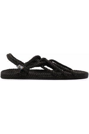 Nomadic state of mind Slingback rope sandals