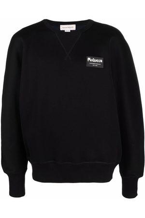 Alexander McQueen Logo-patch sweatshirt