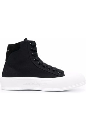 Alexander McQueen Chunky-sole lace-up sneakers