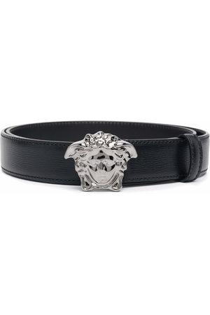 VERSACE Men Belts - Medusa-plaque buckle belt