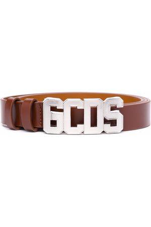 GCDS Logo buckle belt