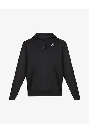 HUGO BOSS Logo-print relaxed-fit cotton-jersey hoody