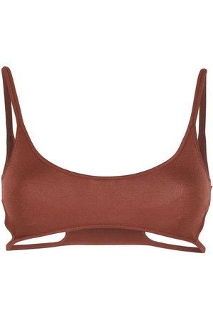 DION LEE Hosiery cut-put bra
