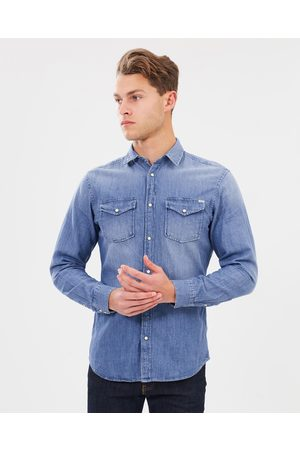 JACK & JONES Sheridan LS Shirt - Casual shirts (Medium Denim) Sheridan LS Shirt