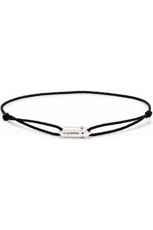 Le Gramme Logo capsule cord bracelet