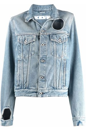Off-White Cut-out denim jacket