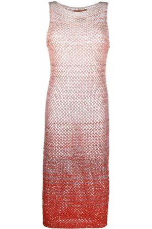 Missoni Horizontal-stripe pattern knitted dress