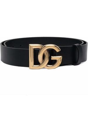 Dolce & Gabbana DG-logo leather belt