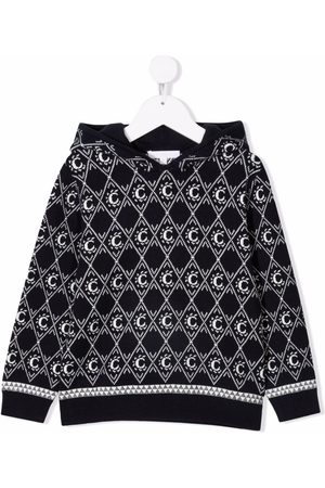 Chloé Girls Hoodies - Stitched C logo hoodie