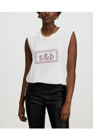 Sass & Bide ICONIC EXCLUSIVE The New Brave Tank - T-Shirts & Singlets ( & ) ICONIC EXCLUSIVE - The New Brave Tank