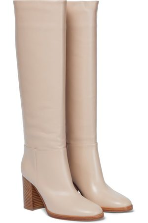 Gianvito Rossi Santiago leather knee-high boots