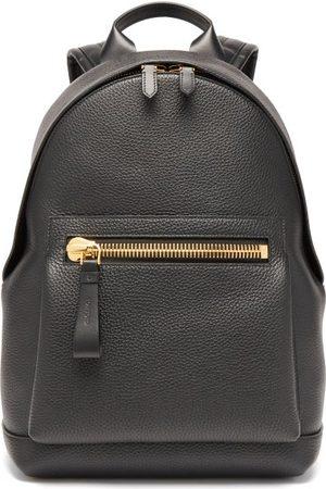 Tom Ford Men Backpacks - Buckley Grained-leather Backpack - Mens