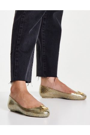 Vivienne Westwood Glitter orb jelly shoes in