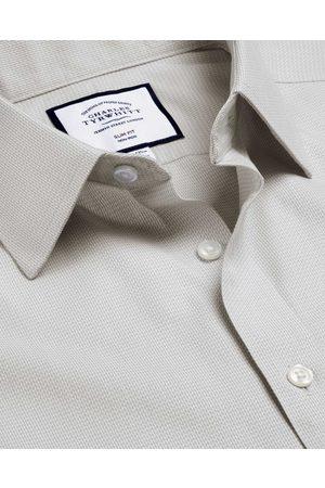 N O-Iro Mii Herrigboe Cotto Busiess Shirt - Frech Cuff Size 41/89 by Charles Tyrwhitt