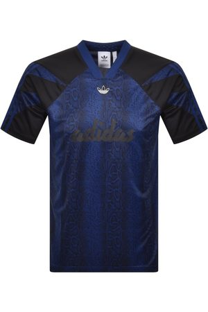 adidas Men Short Sleeve - Animal Print T Shirt