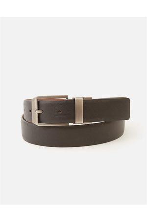 Hallensteins Brothers Sapphire Reversable Belt in /brwn