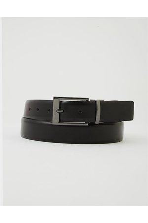 Hallensteins Brothers Brick Reversible Leather Belt in /brwn