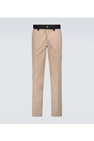 Burberry Dover cotton-blend pants