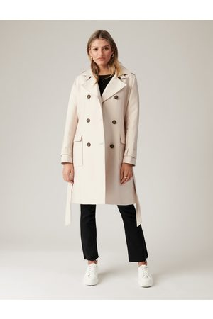 Forever New Jennie Long Trench Coat