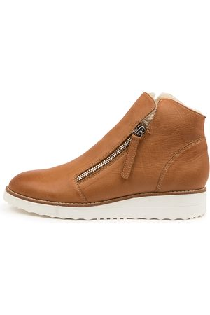 Top end Opal To Dk Tan Boots Womens Shoes Casual Ankle Boots