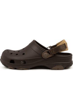 Crocs 206340 Classic A T M Cc Espresso Shoes Mens Shoes Casual Flat Shoes