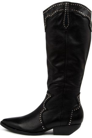 Mollini Pella Mo Heel Boots Womens Shoes Casual Long Boots