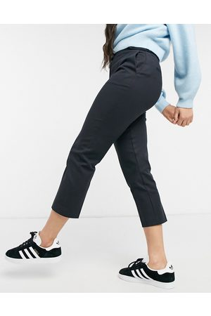 Oasis Compact cotton capri pants in