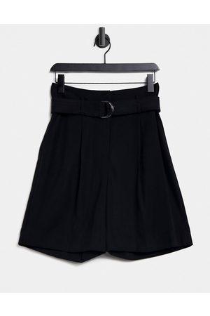 warehouse Women Shorts - D-ring city shorts in
