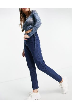 I saw it first High-waisted mom jeans in dark wash