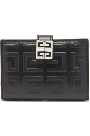 Givenchy 4g-embossed Leather Bi-fold Wallet - Womens