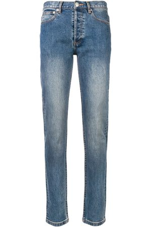 A.P.C. Stonewashed skinny jeans