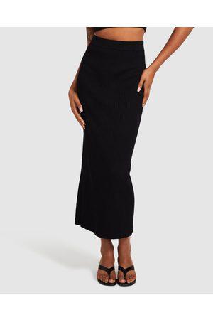 Subtitled Charlotte Knit Midi Skirt