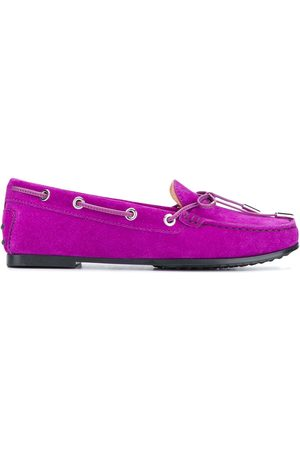 Tod's Women Loafers - Gommino bow-detail loafers