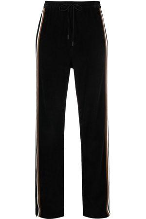 Dsquared2 Side-stripe corduroy track pants