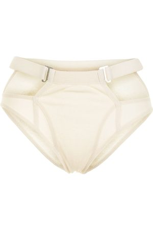 DION LEE Cut-out high-waisted briefs
