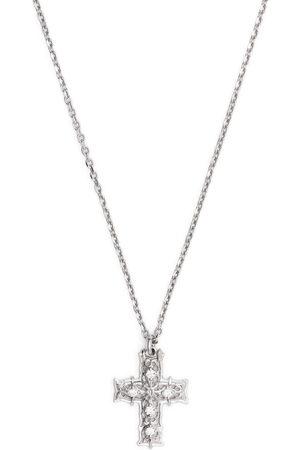 EMANUELE BICOCCHI Men Necklaces - Diamond cross pendant necklace