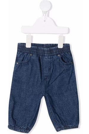 Stella McCartney Elasticated denim trousers