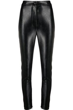 Stella McCartney Women Skinny Pants - Faux-leather skinny trousers