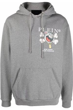 Philipp Plein More Money More Problems-print hoodie
