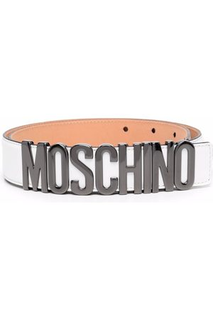 Moschino Men Belts - Logo-lettering belt