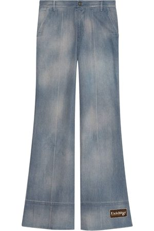 Gucci Faded flared jeans