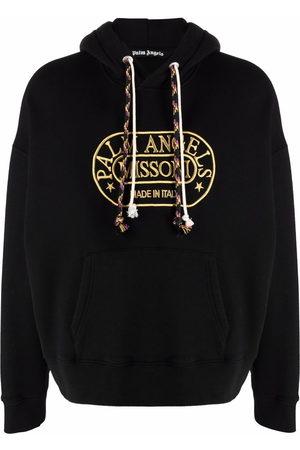 Palm Angels Men Hoodies - X Missoni Heritage logo-print relaxed hoodie