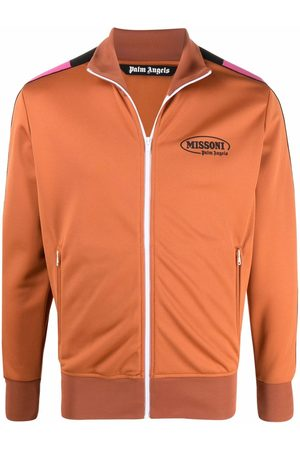 Palm Angels Sweatshirts - X Missoni Sport Logo print track top