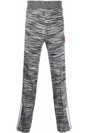 Palm Angels Joggers - X Missoni melange knit track pants