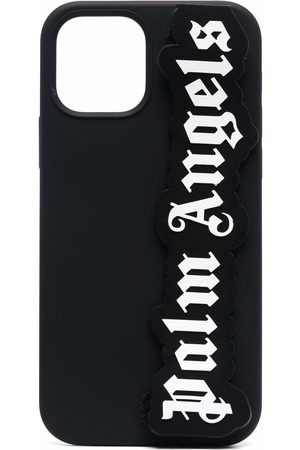 Palm Angels Phone Cases - Logo-patch iPhone 12/12 Pro case